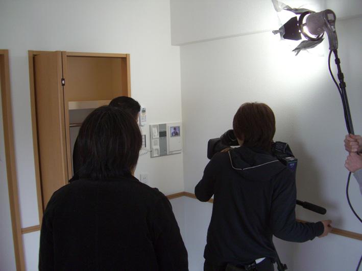 テレビ撮影取材協力