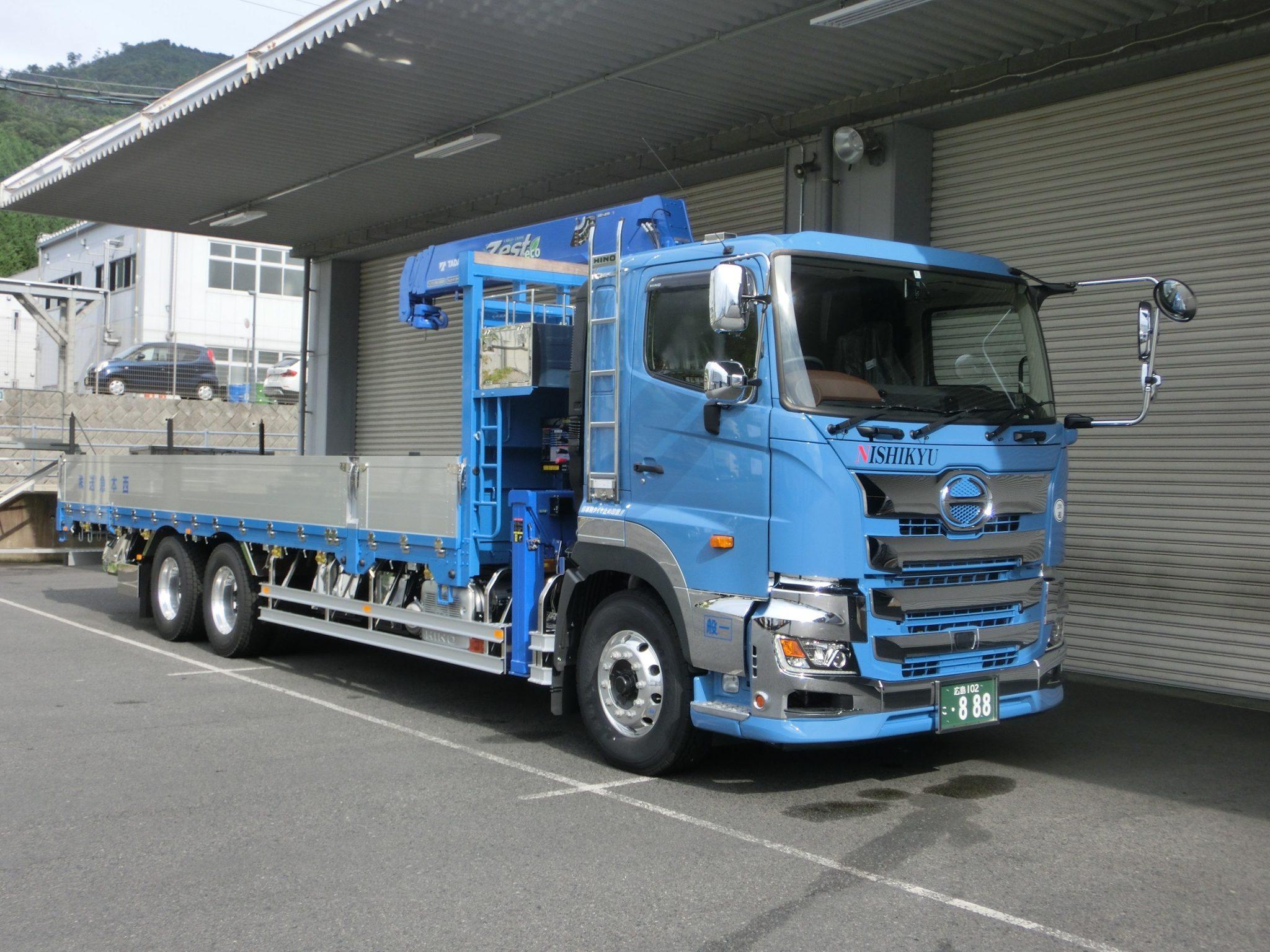 大型トラックドライバー