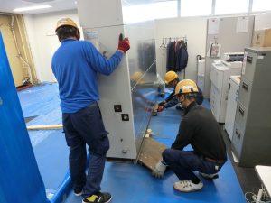 機械設備の組立設置